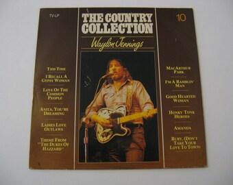 Waylon Jennings - The Country Collection -  Netherland Pressing - Circa 1982