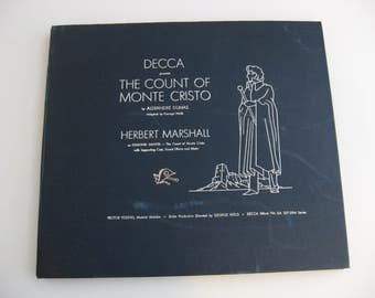 Extremely Rare - Herbert Marshall -  The Count Of Monte Cristo - Circa 1942