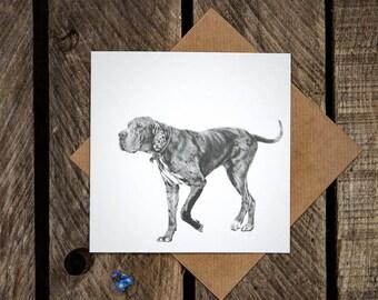 Art Card 'Mosy on Down'
