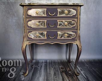 "Vintage showpiece by controller ""Dante"" - unique chest of drawers"