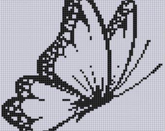 Butterfly 4 Cross Stitch Pattern