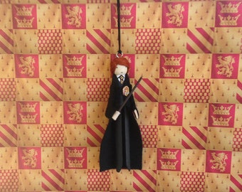 Ron Weasley Clothespin Doll Ornament