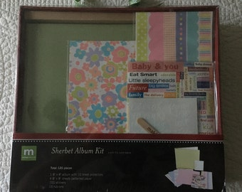 Making Memories Sherbet Album Kit