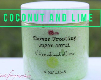 Coconut and Lime Shower Frosting 4 oz