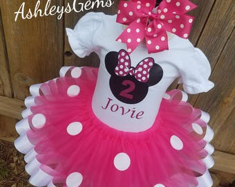 Pink Minnie Mouse Birthday Outfit, Minnie Mouse Dress Toddler, Minnie Mouse Tutu Outfit, Minnie Mouse Tutu Baby, Minnie Mouse Tutu Set