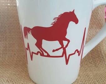 Horse Heartbeat mug