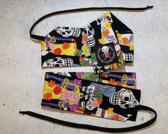 Dia de los Muertos, Day of the Dead, Wrist Wraps, Wrist Wrap, WOD, Weightlifting, Athletic