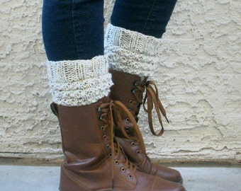 Summer Sale! Knitted Fashion Boot Cuffs- Leg Warmers- Womens Boot Socks
