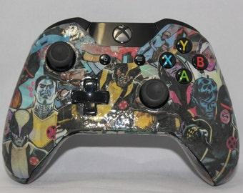 Custom Xbox One Wireless Comic Controller X-Men First Class Ready to Ship