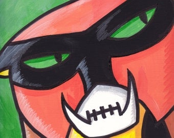 "Space Ghost Brak Painting Acrylic 9"" x 12"""