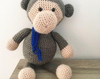 Crochet handmade monkey