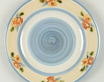 Louisville Stoneware Primrose Salad Plate Farmhouse Kentucky Pottery