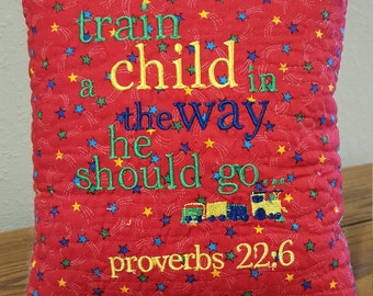 Pillow Talk - Train up a Child in the Way He Should Go