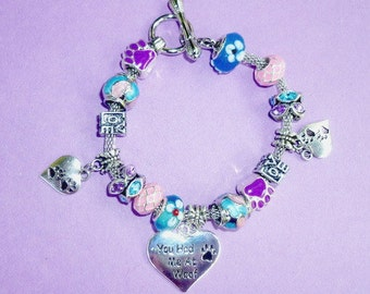 11-You Had Me at Woof ~ Pand*ra Style Charm Bracelet 1