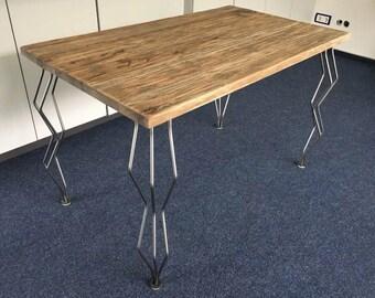 Hairpin legs wave table runners steel legs design