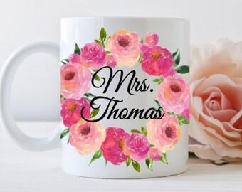 Teacher gift mug, Personalized, dishwasher safe