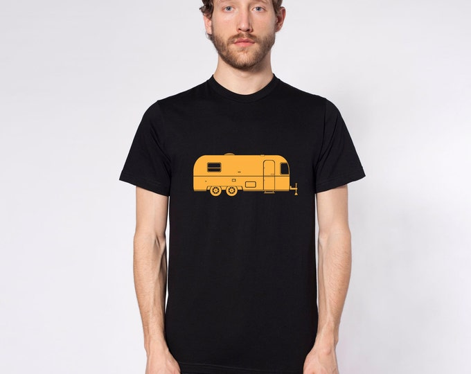 KillerBeeMoto: Vintage Mobile Trailer Short Or Long Sleeve T-Shirts