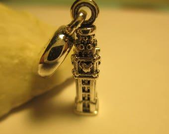 Authentic Pandora Sterling Silver 925 Ale Dangle Big Ben London Charm 791080