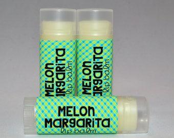 Melon Margarita - Lip Balm - Melon Margarita Chapstick - Flavored Lip Balm - Organic Lip Butter