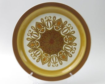 Vintage Electra Casual Ceram Stoneware Tiffany Chop Plate
