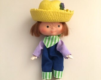 Huckleberry Pie Strawberry Shortcake Boy Doll 1979 American Greetings