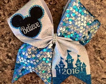 Special event, cheer bows, castle, nationals cheer bow, any color combination/year
