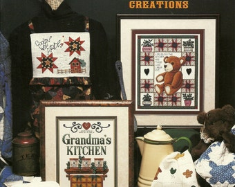 Stoney Creek:  Quilted Kitchen Creations Cross Stitch Book 217