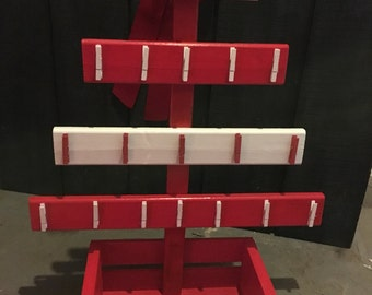 Wooden Card Tree