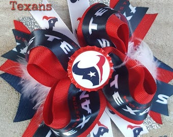 Houston Texans Hairbow
