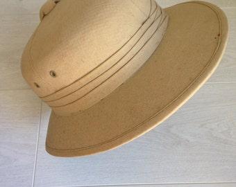 Vintage Safari hat