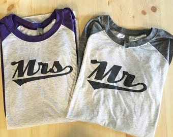 Mr & Mrs Shirt, Hubby and Wifey Shirt, Mr and Mrs Shirt, Mr Shirt, Mrs Shirt