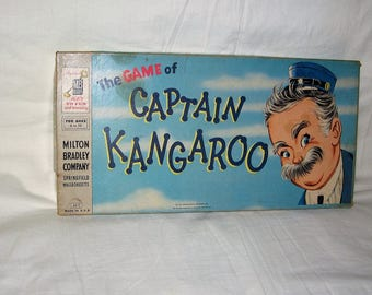 vintage 1956 milton bradley the game of captain kangaroo board game