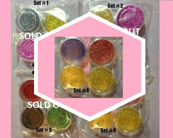 Very Fine Glitter, Set of 4, Your Choice, Crafts, Cards, Scrapbook