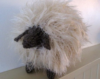 The Softest Lamb Sheep I have ever knitted.
