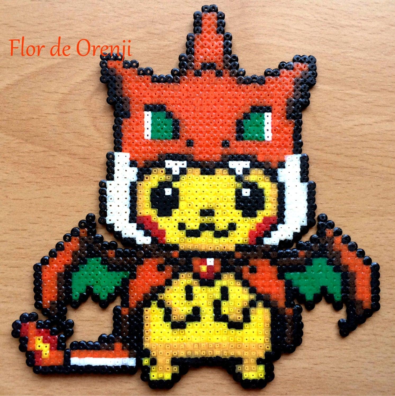 Pokemon Perler Pokemon Hama Pikachu Hama Beads Charizard