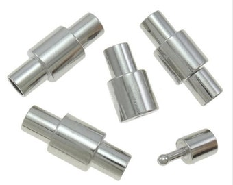 3 Bayonet Clasps and End Cap all in one, 3mm w/nipple