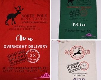 Santa Sack - Personalized Santa Sack - Santa Bags - Santa Sack Personalized - Christmas Sack - christmas gift