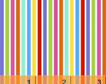 Stripes - Multi Brights 31644-17 by Windham Fabrics Cotton Fabric Yardage