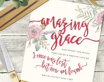 Amazing Grace 8x10 print