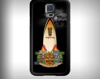 Samsung Galaxy S5 phone case with Full color custom graphics -  Night Tiki