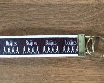The Beatles Key Chain Zipper Pull Wristlet