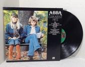 ABBA Greatest Hits vinyl record 1977 Atlantic SD18189