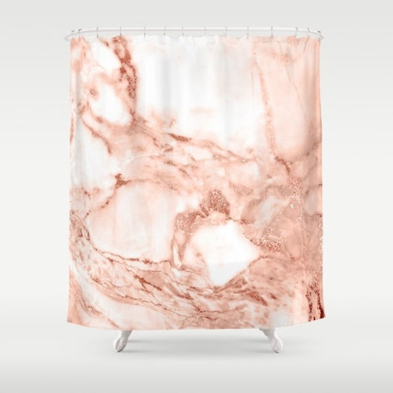 pink and gold shower curtain. Description  Our Marble Shower Curtain Rose Gold Girls Bathroom Decor Pink
