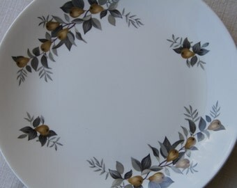 """Vintage 1957  Ridgeway """"Conference """" Dinner plate Staffordshire Pottery"""