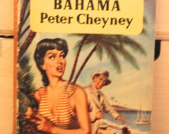 A striking 1950s Pan paperback edition of Peter Cheyney's  classic  story Dark Bahama