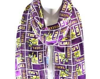 UniversityofLouisianaLSUOfficialNCAALicensedSatinScarf,144570