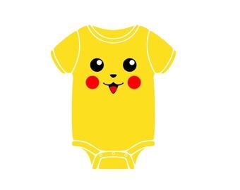 Pokemon Pikachu Onesie!