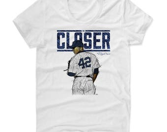 Mariano Rivera Closer B New York Officially Licensed Women's Scoop Neck T-Shirt S-XL