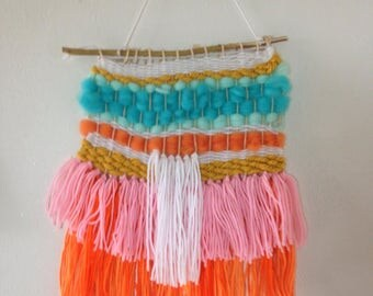 Colorful orange sherbert Wall Hanging