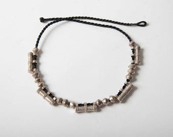 lovely Ethiopian telsum marriage necklace with heavy spacer beads